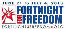 Fortnight for Freedom 2013